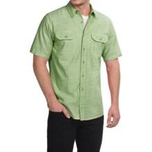 Pendleton Warren Chambray Shirt - Cotton, Short Sleeve (For Men) in Green - Closeouts