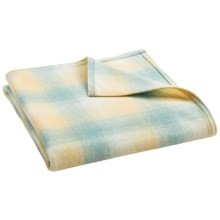 Pendleton Washable Merino Crib Blanket - Merino Wool in Buttermint - Closeouts