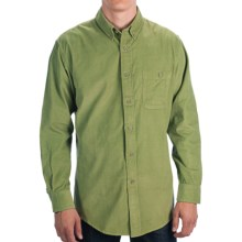 Pendleton Wayne Corduroy Shirt - Button Front, Long Sleeve (For Men) in Lime Green - Closeouts