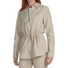 Pendleton West Wind Jacket - Linen Blend (For Women) in Natural - Closeouts