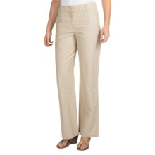 Pendleton West Wind Pants - Linen Blend (For Women) in Natural - Closeouts