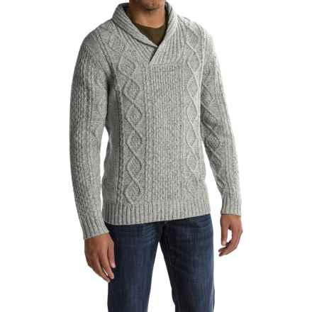 Pendleton Western Donegal Sweater - Shawl Collar (For Men) in Ash Grey - Closeouts