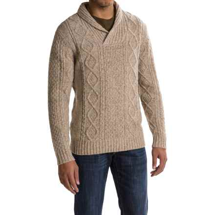 Pendleton Western Donegal Sweater - Shawl Collar (For Men) in Oatmeal - Closeouts