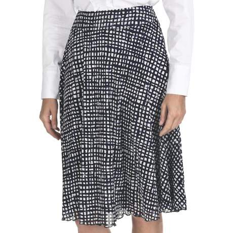 Pendleton Windward Knit Skirt - Nylon Mesh (For Women) in Midnight Navy