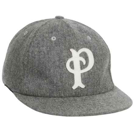 Pendleton Wool Baseball Cap (For Men) in Grey Heather - Closeouts