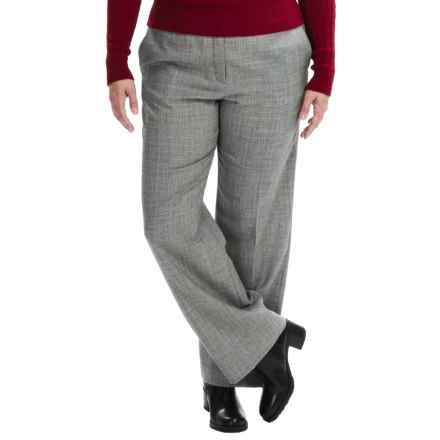 Pendleton Wool Chic Street Pants (For Plus Size Women) in Black/White - Closeouts