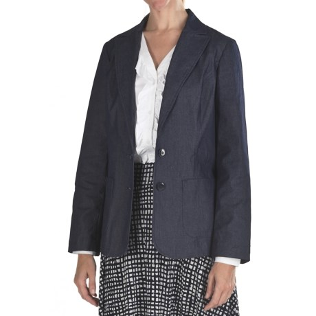 Pendleton Work It Cotton Denim Jacket (For Women) in Dark Indigo