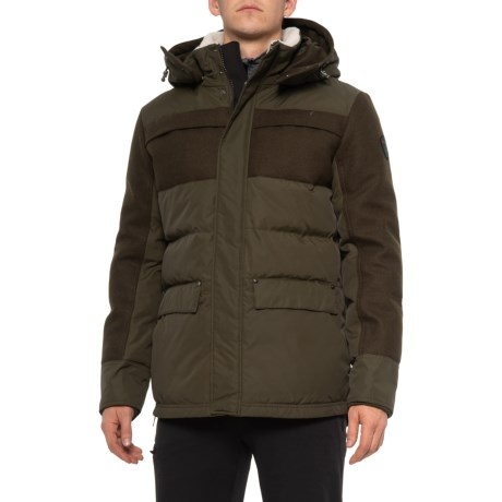Penfield Down Parka - 550+ Fill Power (For Men) - MILTARY (XL )
