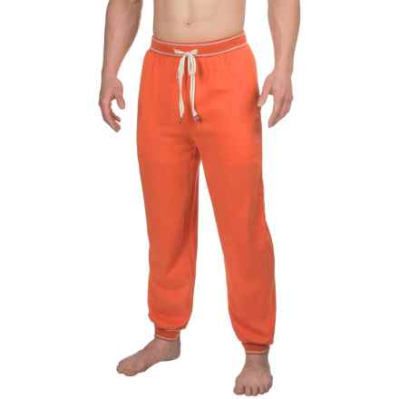 Penguin Brushed Jersey Lounge Pants (For Men) in Red Clay - Closeouts
