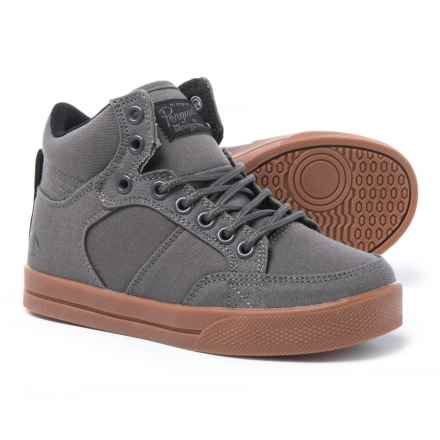 Penguin Eryk High-Top Sneakers (For Boys) in Grey - Closeouts