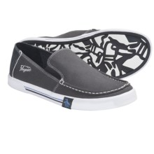Penguin Footwear Ernie Shoes - Canvas, Slip-Ons (For Men) in Dark Shadow - Closeouts