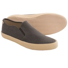 Penguin Footwear Espy Slip-On Shoes - Canvas (For Men) in Black - Closeouts