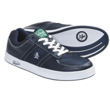 Penguin Footwear Jingle Sneakers - Leather (For Men) in Navy - Closeouts
