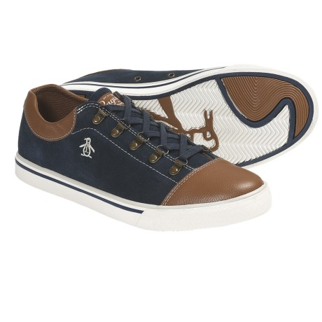 Penguin Footwear Sky Sneakers - Suede (For Men) in Blue