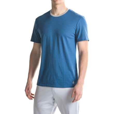 Penguin Lounge T-Shirt - Short Sleeve (For Men) in True Blue - Closeouts