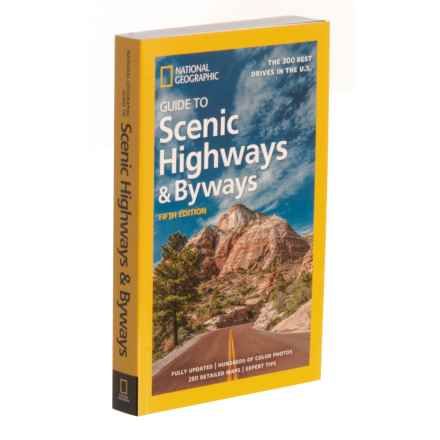 Penguin Random House Guide to Scenic Highways and Byways - 5th Edition, Paperback Book in Multi - Closeouts