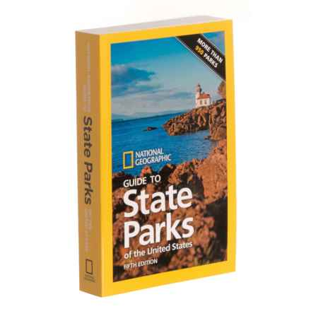 Penguin Random House Guide to State Parks of the United States - 5th Edition, Paperback Book in Multi - Closeouts