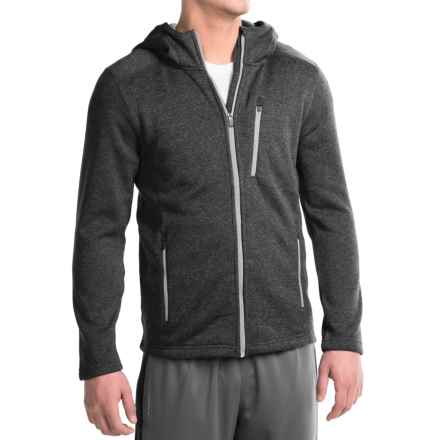 Penn Cross-Country Hoodie - Full Zip (For Men) in Black Heather - Closeouts
