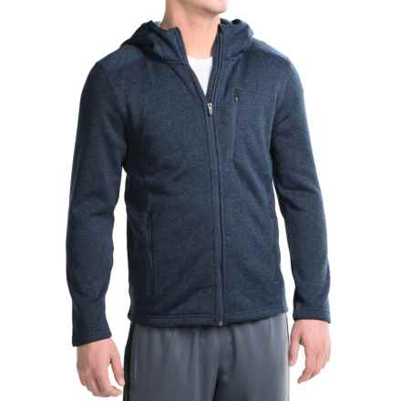Penn Cross-Country Hoodie - Full Zip (For Men) in Navy Heather - Closeouts