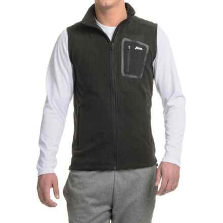 Penn Flex Fleece Vest (For Men) in Black - Closeouts