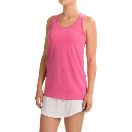 Penn Mesh Racerback Singlet Shirt - Racerback, Sleeveless (For Women) in Phlox Pink - Closeouts