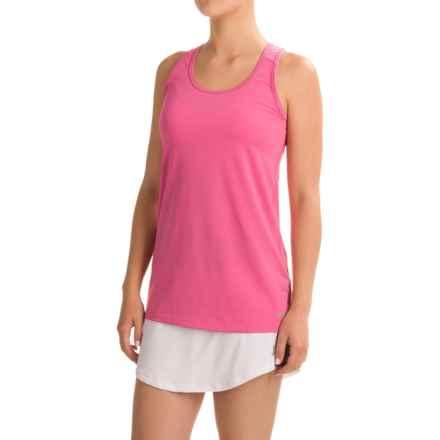 Penn Mesh Racerback Singlet Shirt - Racerback, Sleeveless (For Women) in Phlox Pink - Closeouts