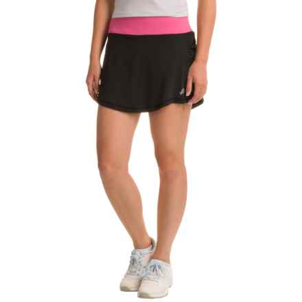 Penn Solid Rocket Mesh Skort (For Women) in Black - Closeouts
