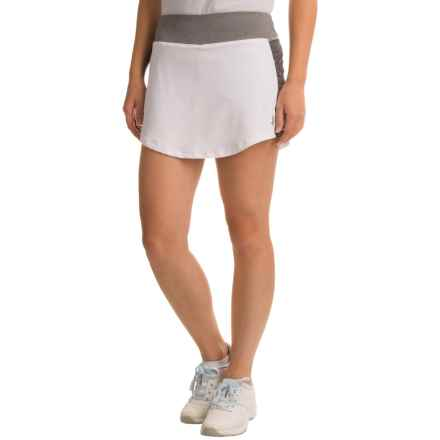 Penn Solid Rocket Mesh Skort (For Women) in Stark White - Closeouts
