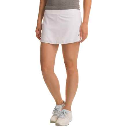 Penn Spike Skort (For Women) in Stark White - Closeouts