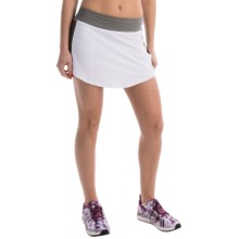 Penn Tennis Solid Rocket Mesh Skort (For Women) in Stark White - Closeouts