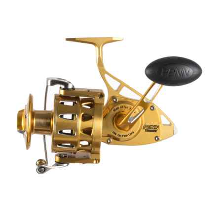 Penn Torque TRQS9 Spinning Reel - Europe Gold in Gold - Closeouts