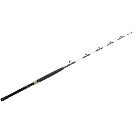 Penn Tuna Stick® Stand-Up Fishing Rod - 1-Piece, Heavy in White/Black - Closeouts