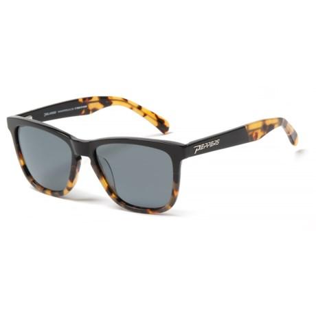 Peppers Polarized Eyeware Black Sands Sunglasses - Polarized (For Women) in Black/Tortoise Fade/Smoke