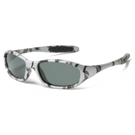 ab6b9298580 Peppers Polarized Eyeware Casper Sunglasses - Polarized (For Kids) in Matte  Grey Camo