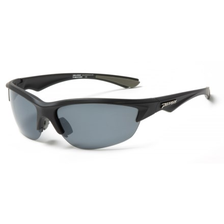 6e953e8823a Peppers Polarized Eyeware Kickturn Sunglasses - Polarized in Matte Black G15  - Overstock