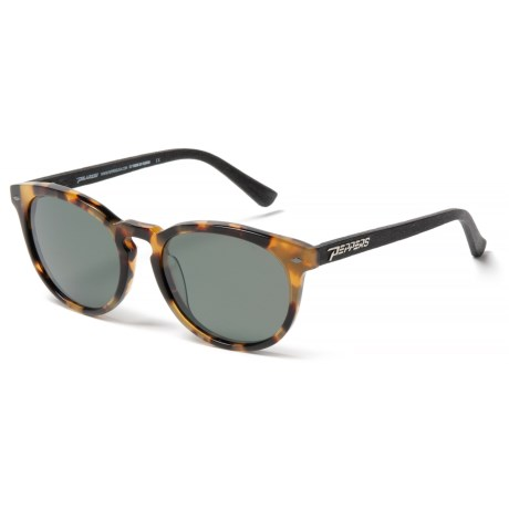 Peppers Polarized Eyeware Princeton Sunglasses - Polarized (For Women) in Blonde Tortoie W/Matte Black/G-15