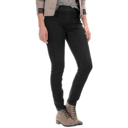 Per Se Pull-On Jeggings (For Women) in Black - Closeouts