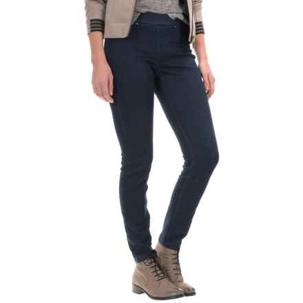 Per Se Pull-On Jeggings (For Women) in Dark Wash - Closeouts
