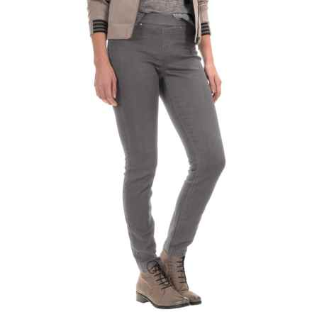 Per Se Pull-On Jeggings (For Women) in Grey - Closeouts