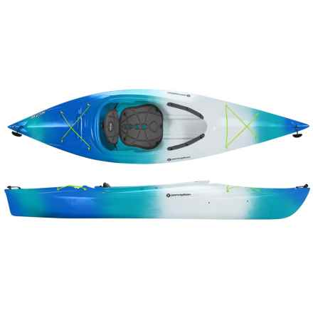 "Perception Conduit 9.5 DB Kayak - 9'6"", Sit-In in Sea Spray - Closeouts"