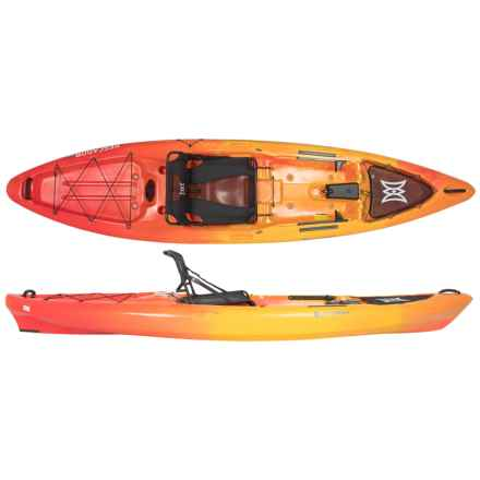 Perception Pescador Pro Basic Fishing Kayak - 12' in Sunset - Closeouts