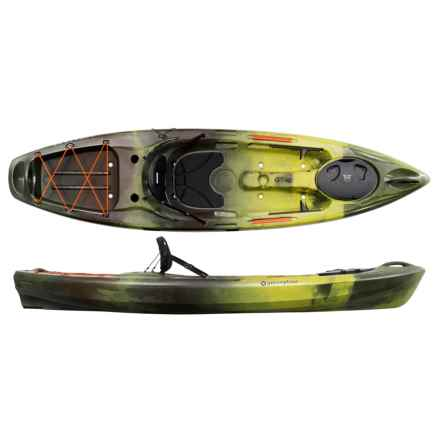 "Perception R15 Pescadors 100 Kayak - 10'6"" in Camo Green - Closeouts"