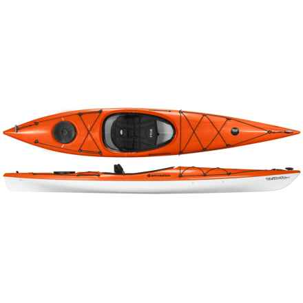 Perception Tribute Ultralite Sit-in Kayak - 12' in Tangelo - Closeouts
