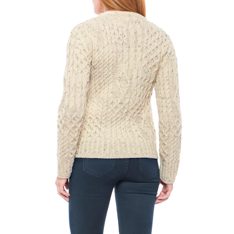 Peregrine Aran Sweater (For Women) - Save 60%