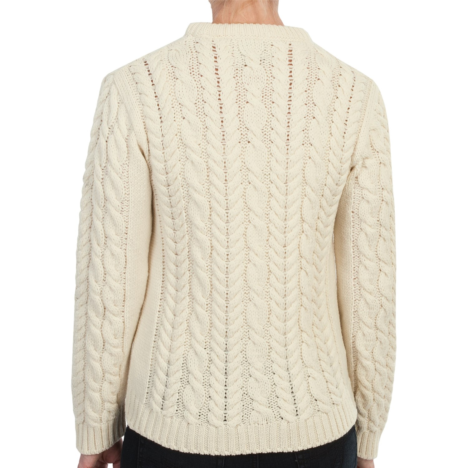 Sweater Knit : Peregrine by j g glover aran cable knit sweater for