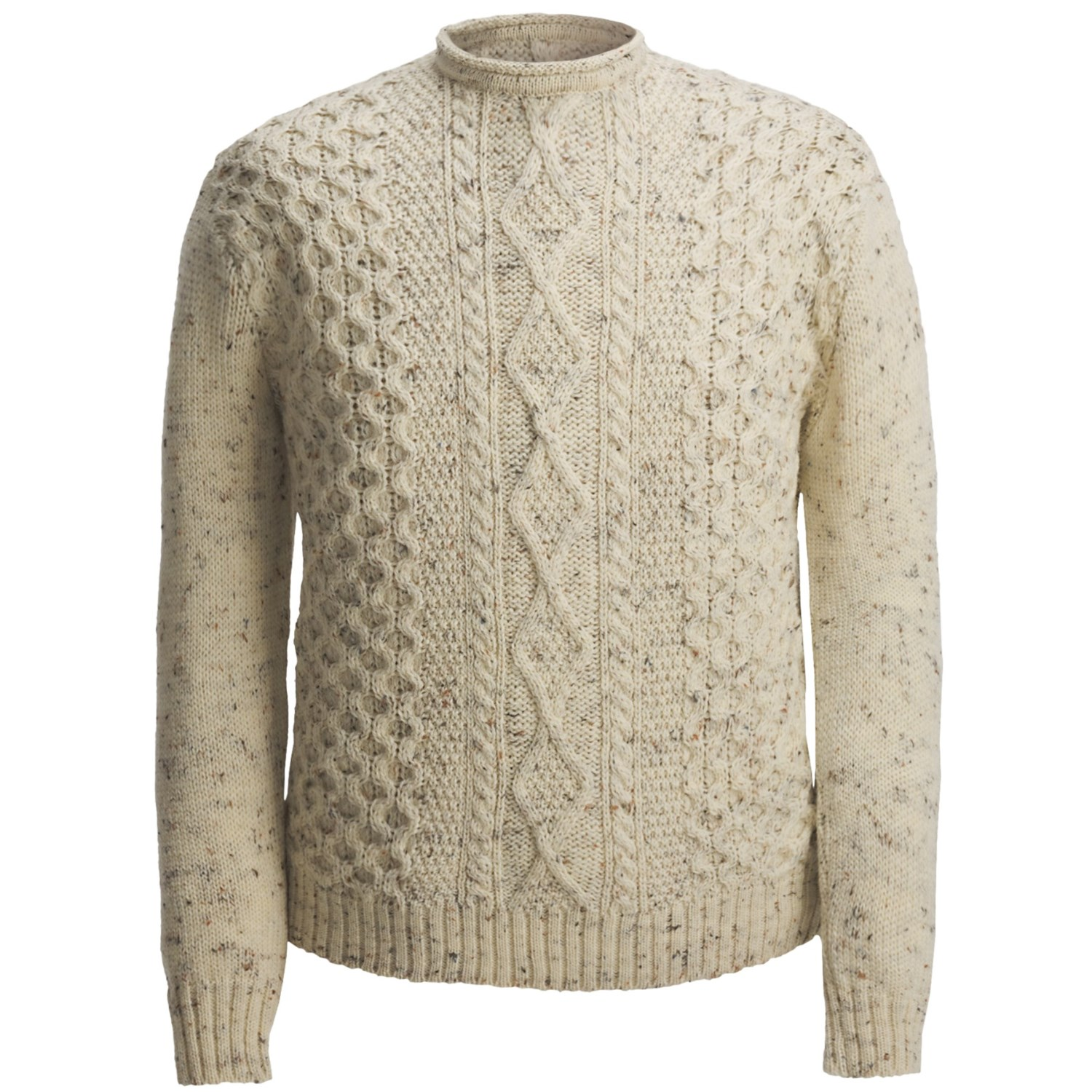 Knitting Sweaters For Men : Aran sweater on sale jeans and boots