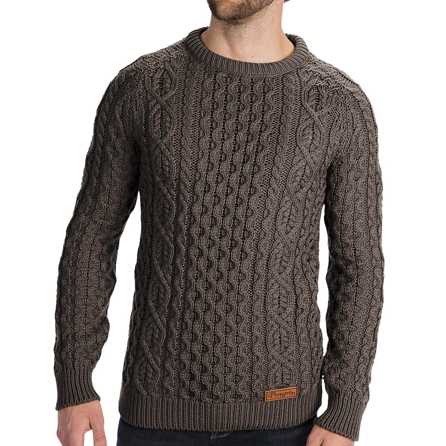 A men's wool sweater is the epitome of class regardless of the color or style you select, as you can easily pair them with jeans for a laid-back and relaxed look or with dressy pants and shoes for a more put-together ensemble.