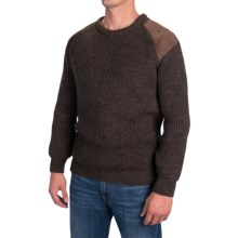 Peregrine by J.G. Glover British Commando Sweater - New Wool (For Men) in Commando Brown - Closeouts