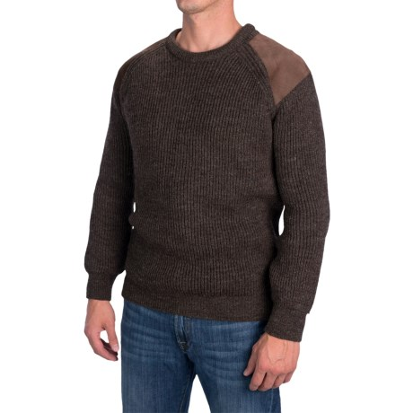 Peregrine by J.G. Glover British Commando Sweater - New Wool (For Men) in Commando Brown