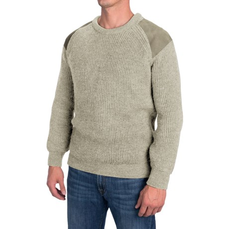 Peregrine by J.G. Glover British Commando Sweater - New Wool (For Men) in Natural